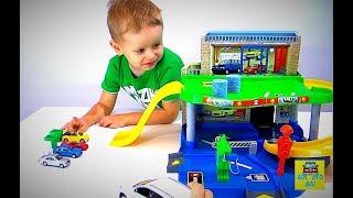 Играем в машинки Автошкола Суперкар 2-й Урок Детские мультики про машинки для мальчиков Детский Влог