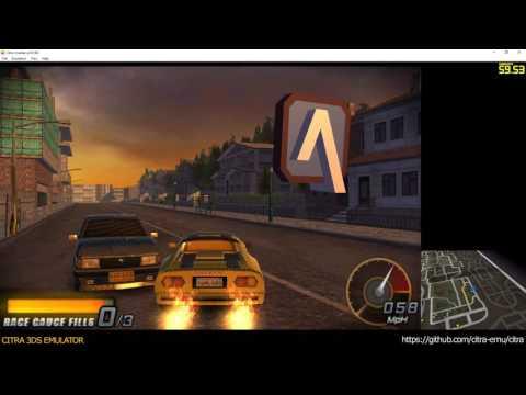 Citra 3Ds Emulator - Driver Renegade Ingame 1080P Cpu Jit - YT