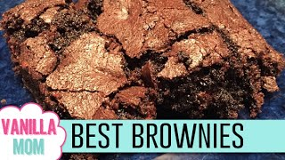 Best Ever Fudge Brownies Recipe! | Found On Pinterest