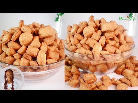 Easy step by step on how to make crunchy nigerian chin chin - you'll love it