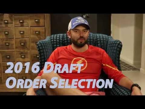 KRAP SPORTS: 2016 Draft Order Selection