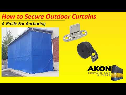 How to Secure Outdoor Curtains | Against the Wind