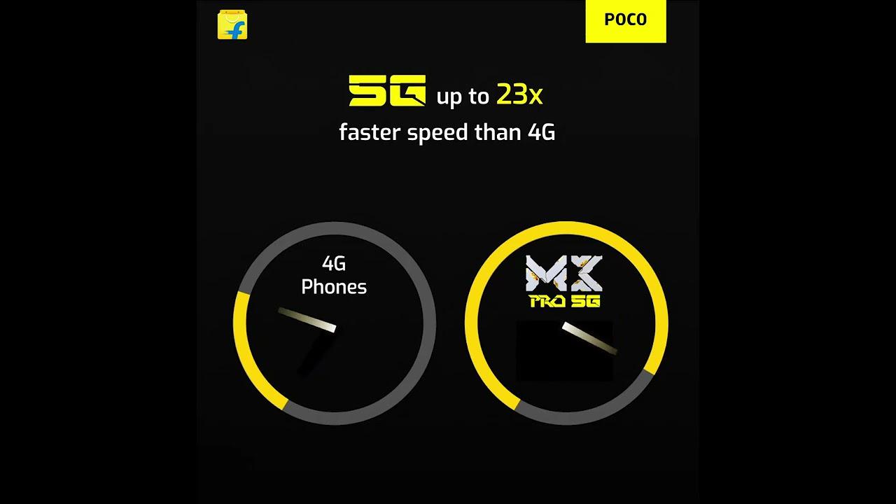 5G Speed with POCO M3 Pro 5G