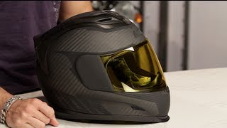 Icon Airframe Ghost Carbon Helmet Review at RevZilla.com thumbnail