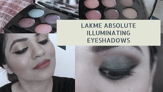 Eye Makeup |Lakme Illuminating Eyeshadow Palette French Rose & Royal Persia