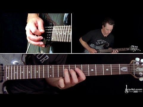 Megadeth - Tornado of Souls Guitar Lesson (Chords/Rhythms)