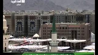 أذان الظهر من المسجد النبوي الثلاثاء 19-8-1435 المؤذن أشرف عفيفي