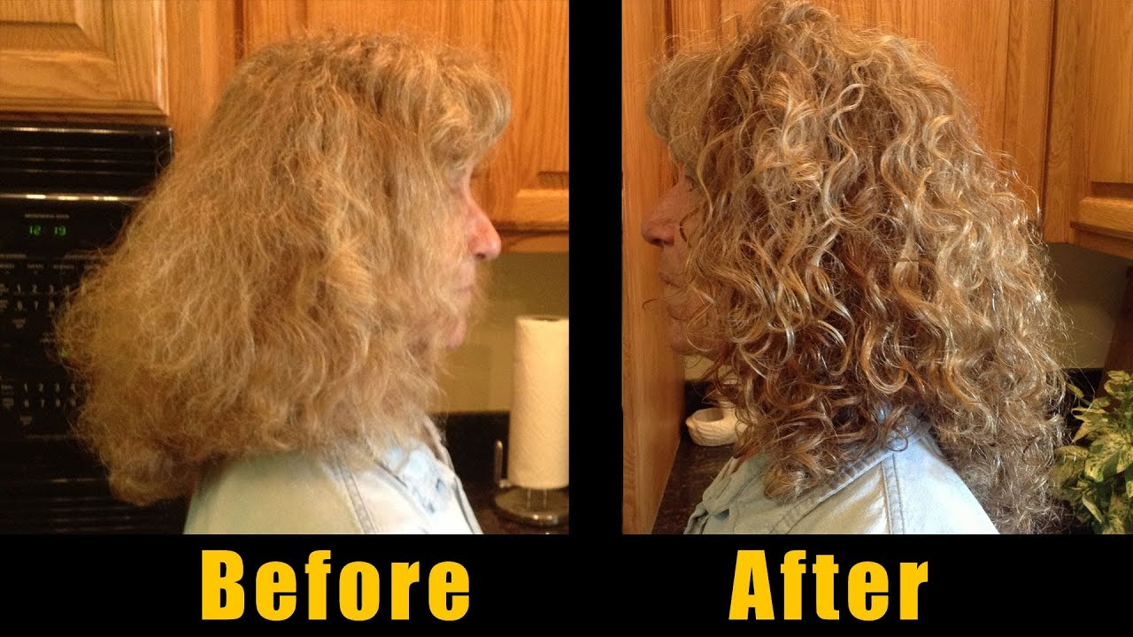 Styling Curly Hair  Fran39;s easy frizz free taming routine  YouTube