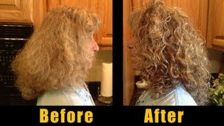 Styling Curly Hair - Fran