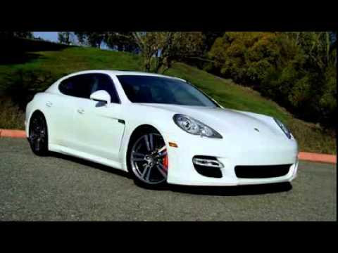 2014 porsche panamera turbo s white
