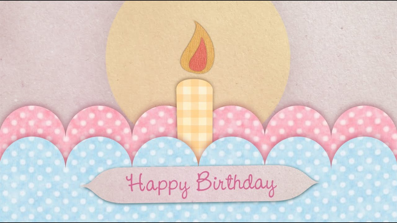 personalized happy birthday card video greeting card, Birthday card
