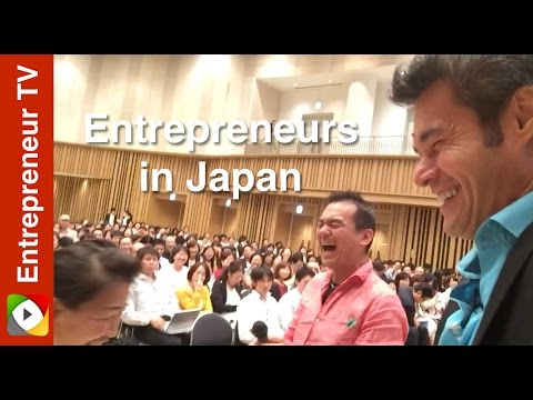 Entrepreneurs in Japan
