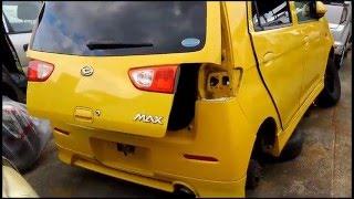 廃車のダイハツ・MAX DAIHATSU MAX Scrap car