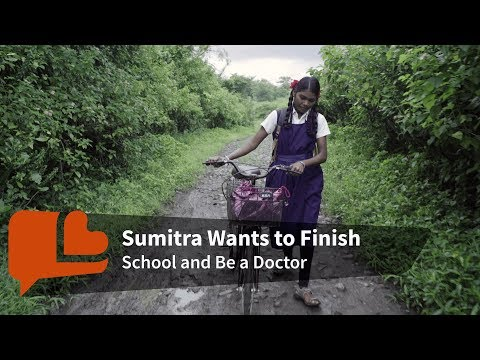 How a Bicycle is Leading One Girl Out of Poverty