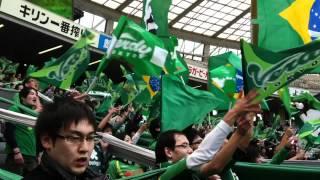 2012.03/11 @AjinomotoStadium 2012年新曲Brasil。 さらにサンバの度合...