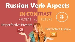 Beginning Russian: Verbal Aspect in Contrast. Part 3: Imperfective Presentt vs. Perfective Future