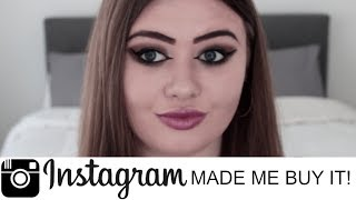I Bought The First 5 Things Instagram Recommended To Me