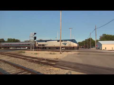Rail Action Across Illinois and Indiana Labor Day Weekend 2017