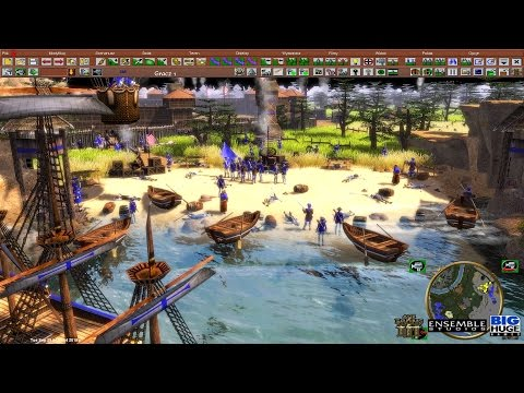 Epic Age of Empires III Map Making Series (19) Part 6 Season 2