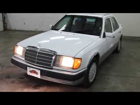1992 mercedes benz 300e white sn 1235 for 1992 mercedes benz 300e