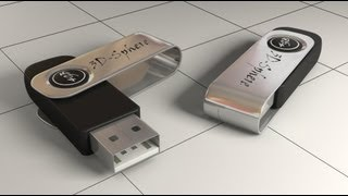 Modeling a USB Key in 3ds Max - Part 1