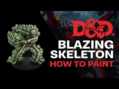 How To Paint: D&D Blazing Skeleton