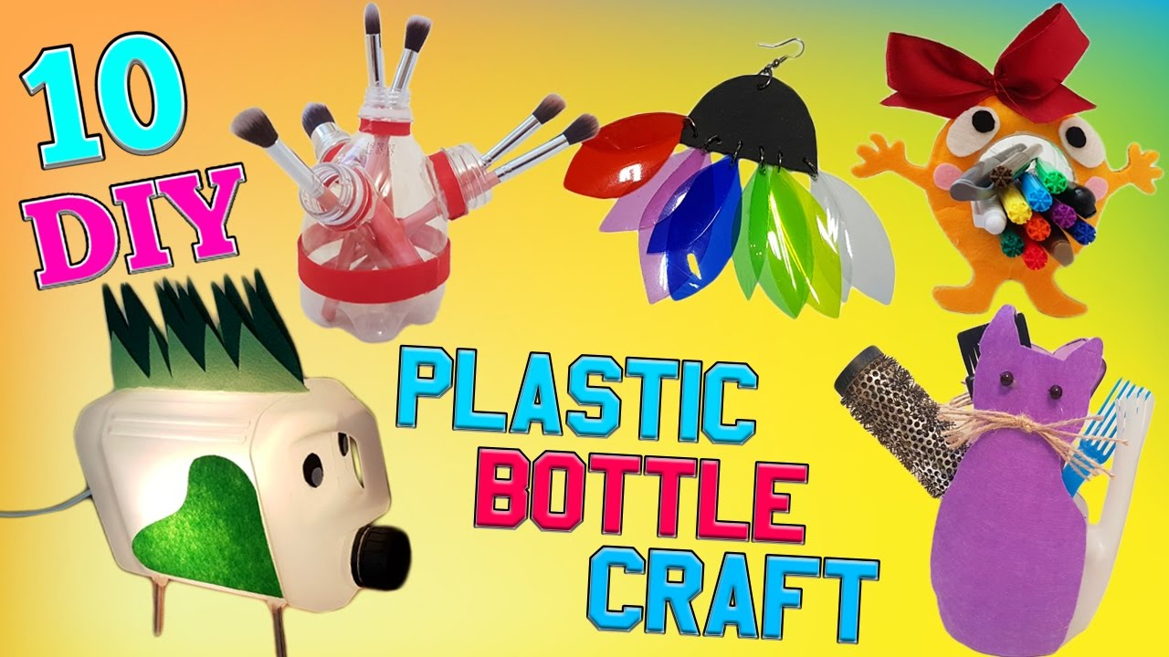 10 diy plastic bottle craft how to diy creative ways for Plexiglass arts and crafts