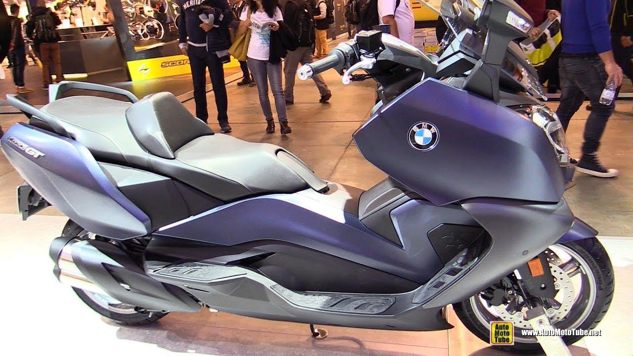 2018 bmw c650 gt scooter walkaround 2017 eicma milan. Black Bedroom Furniture Sets. Home Design Ideas