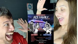 WE ARE GOING TO THE ACE FAMILY EVENT AGAIN!!