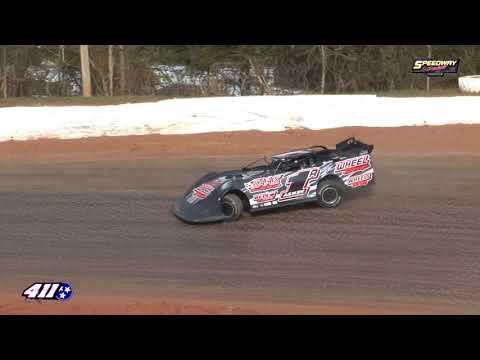 Super Late Model Qualifying @ 411 Motor Speedway Dec. 28, 2019