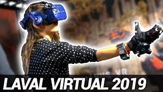 Laval Virtual 2019 : visite du salon mondial de VR