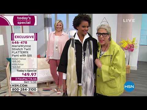 HSN | MarlaWynne Fashions . http://bit.ly/2Xc4EMY