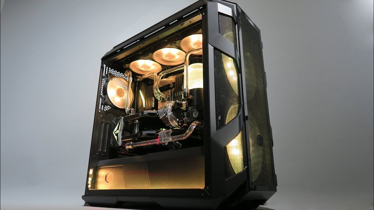 Timelapse Build - Cooler Master MasterCase H500M