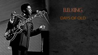 Gambar cover B B KING DAYS OF OLD