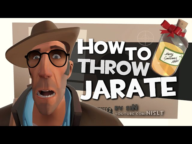 TF2: How to throw Jarate (X-Files)