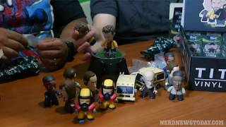 """Breaking Bad: Heisenberg Collection"" Titan Vinyls - mini-figure Unboxing and Review"