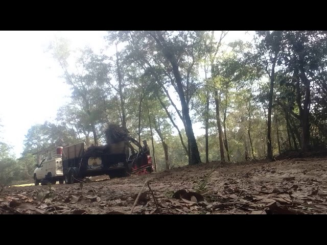Toro Dingo Grapple Loading Dump Trailer