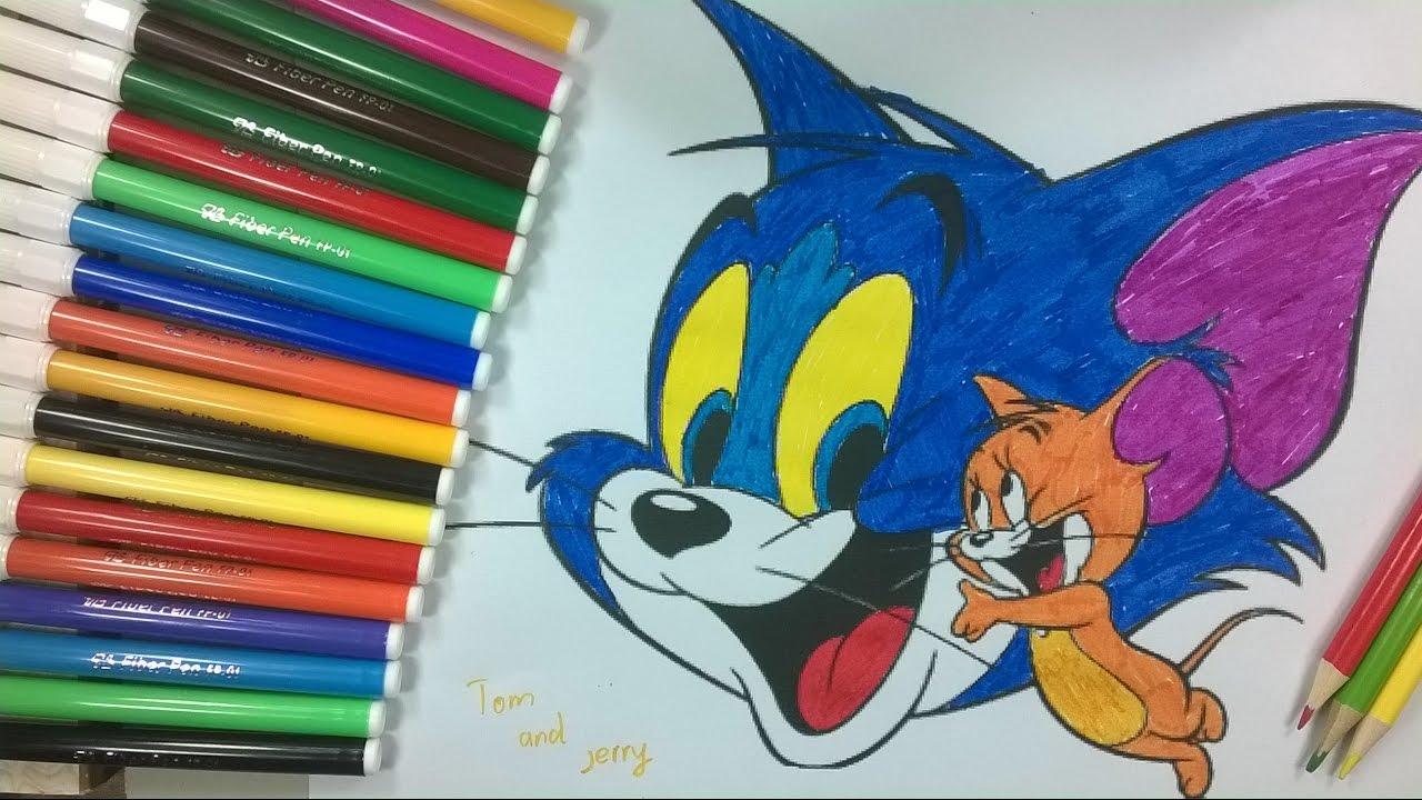 Enfants de couleur 11 tom et jerry coloriage b b la cha ne pour enfants youtube - Tom et jerry dessin ...