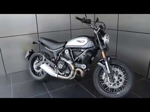 2018 Ducati Scrambler Street Classic with only 41 miles in Volcano Grey