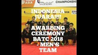 MERINDING! AWARDING CEREMONY BADMINTON ASIA CHAMPIONSHIP 2018 - MEN'S TEAM