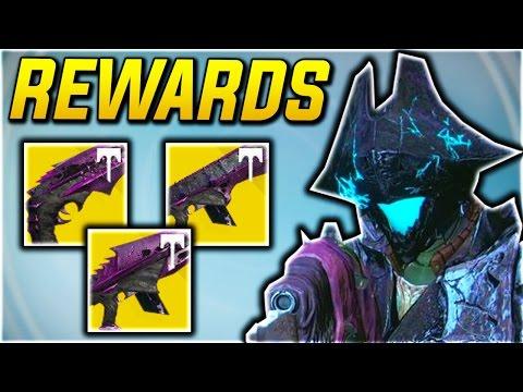 DESTINY: 390 KINGS FALL RAID REWARDS - DESTINY NEW EXOTIC RAID LOOT!