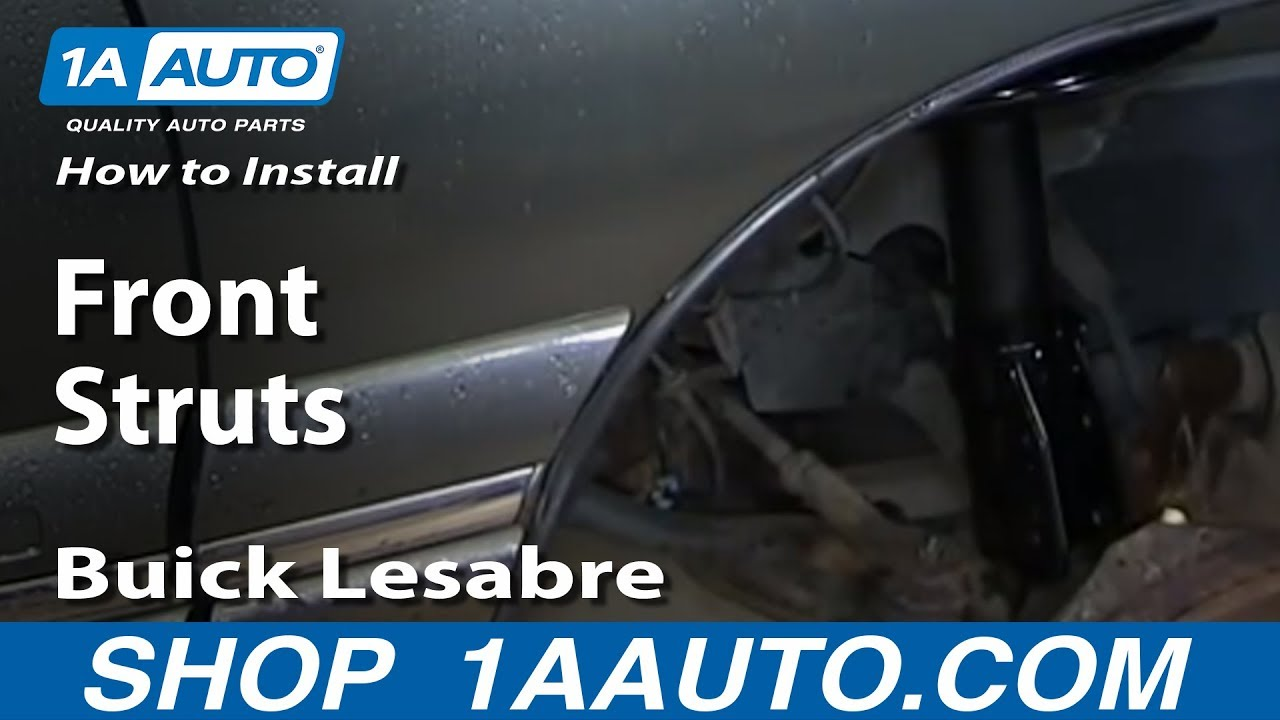 How To Install Replace Worn Out Front Struts 1990 99 Buick Lesabre 1997 Riviera Wiring Diagram Pontiac Bonneville Youtube