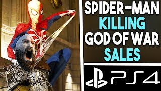 SPIDER-MAN PS4 is KILLING God of War Sales Numbers - It