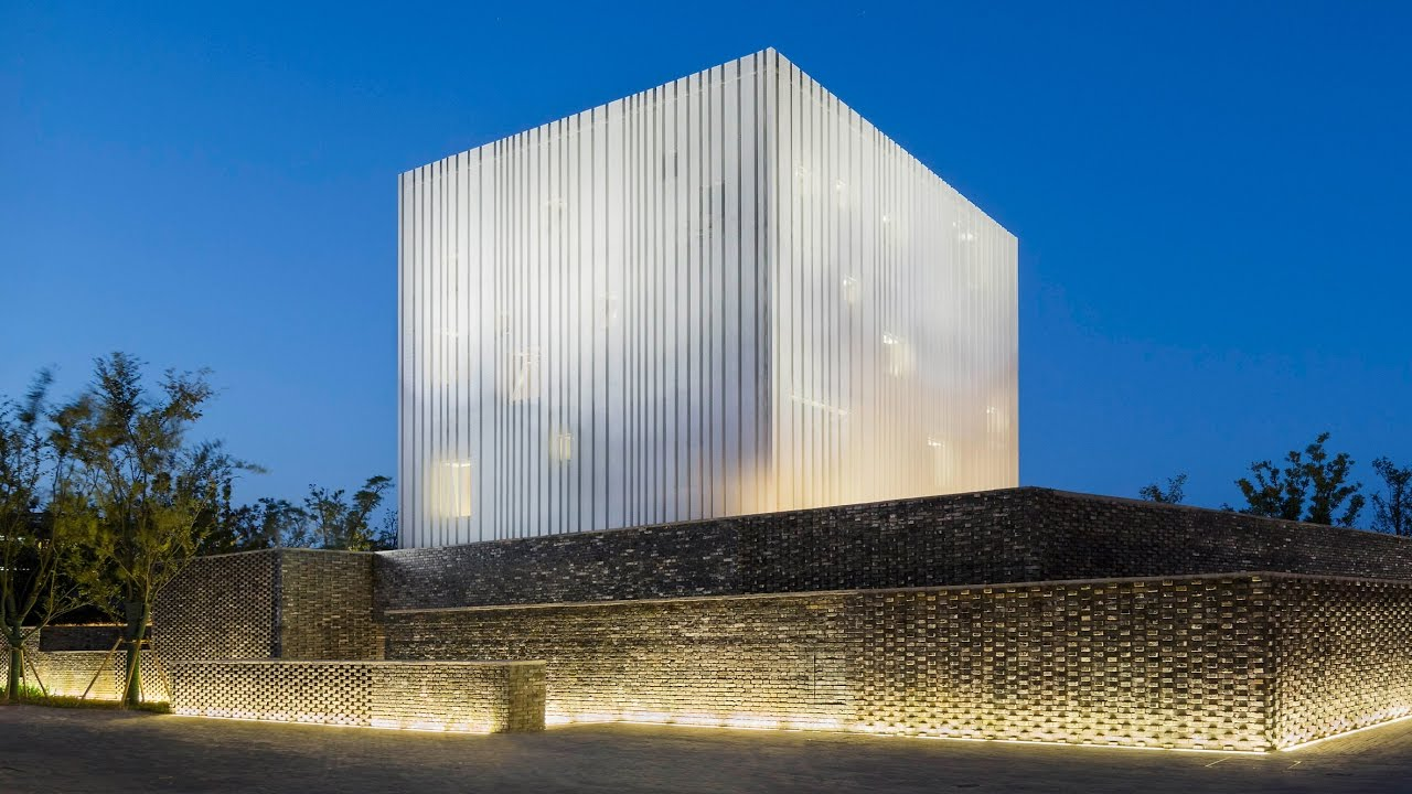 Neri Amp Hu S Suzhou Chapel Combines Textured Brick Base