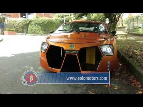 Eolo, un carro eléctrico 100% colombiano