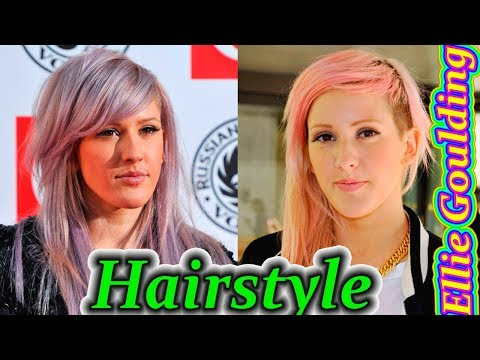 Ellie Goulding Hair. Ellie Goulding Hairstyle. Ellie Goulding Haircut