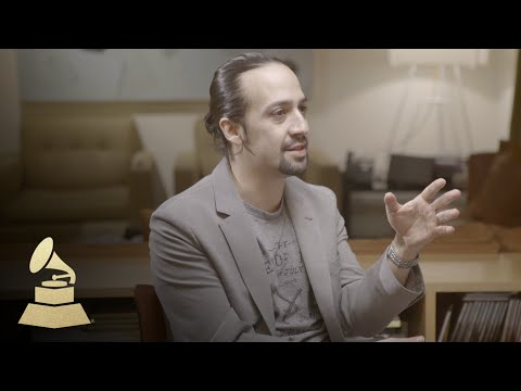 Hamilton Creator Lin-Manuel Miranda | Nomination Interview | 58th GRAMMYs