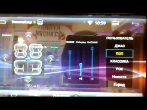 Магнитола Incar AHR-7380 на Android 5.1