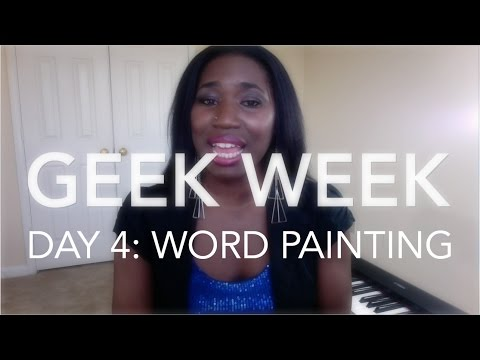 GEEK WEEK DAY 4 ∙ WORD PAINTING | chanelmusic