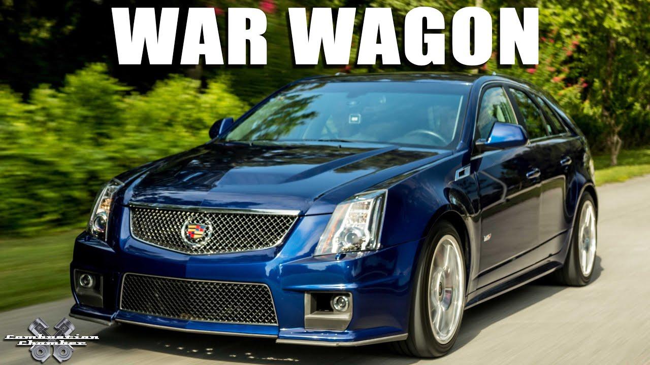 War Wagon 2014 Cadillac Cts V Youtube